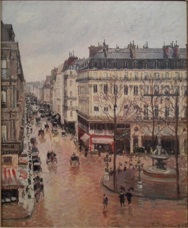 Camille Pissarro - Rue Saint-Honoré in the Afternoon Effect of Rain - 1897