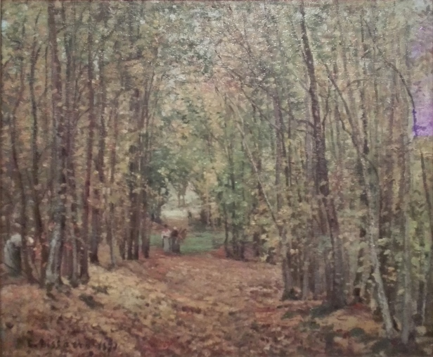 Camille Pissarro - The Woods at Marly 1871
