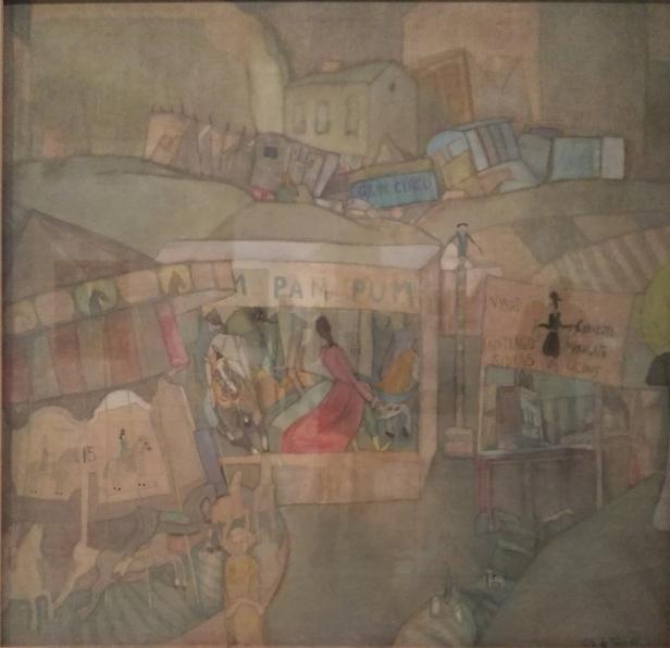 Carlos Sáez de Tejada - Morning at the Fair or Pim, Pam, Pum - 1924.jpg