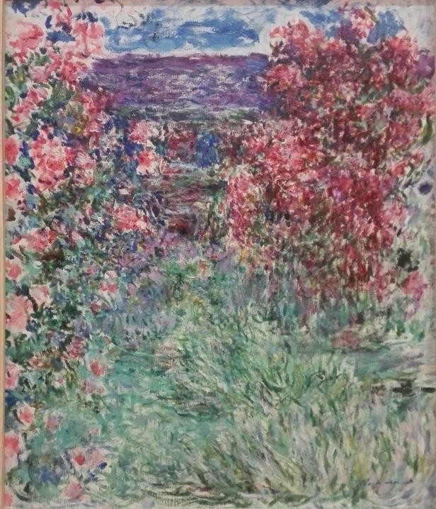 Claude Monet - The House Among the Roses - 1925 (La casa entre las rosas).jpg