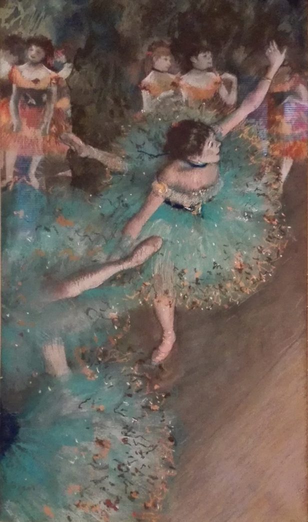 Edgar Degas - Swaying Dancer - (Dancer in Green) 1879 - Musseum Thyssen-Bornemisza.jpg