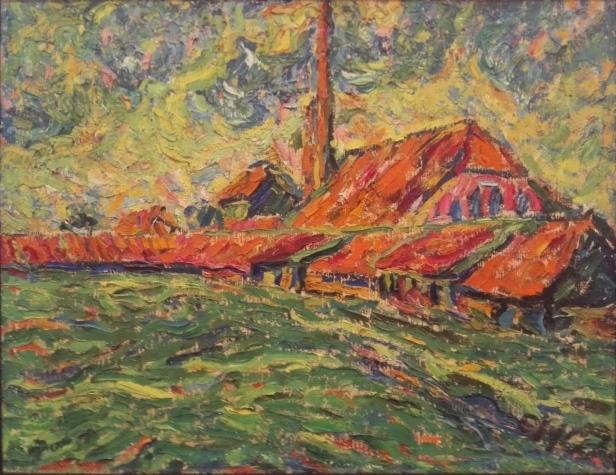 Erich Heckel - Brickworks - Fábrica de ladrillos - 1907.jpg