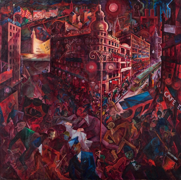 George Grosz - Metropolis - 1917 - Musseum Thyssen-Bornemisza.jpg
