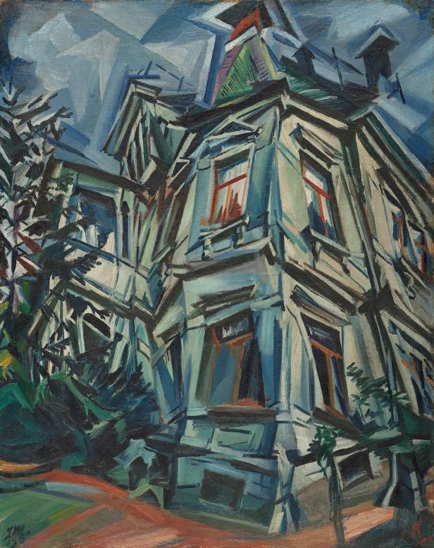 Ludwig Meidner - The Corner House (Villa Kochmann, Dresden) 1913 - Musseum Thyssen-Bornemisza.jpg