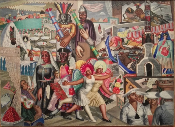 Maruja Mallo - Street Festival - 1927.jpg
